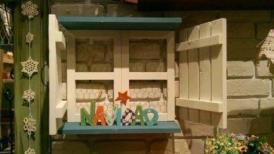 zakka糖果臘腸鄉村雜貨坊  木作類.Window經典窗台/櫥窗展示壁飾架.開店用品.婚禮布置.開店用品.園藝造景佈景
