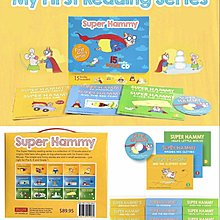 🇨🇦 加拿大 Super Hammy-My First Reading Series英文繪本(一套15書+1CD)