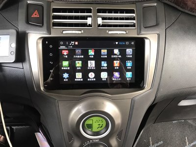 豐田機 ALTIS VIOS WISH YARIS ae86 PREVIA 2DIN安卓版 wifi 7吋 導航螢幕主機