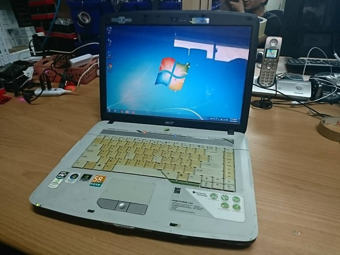 ☆1到6☆ACER 5520G 雙核 筆電 /硬碟160G/記憶體2G/WIN7 功能正常 jj266