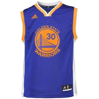 現貨 NBA官網正品 Adidas 金州勇士隊 科瑞 Stephen Curry 30號 球衣背心 兒童青年版
