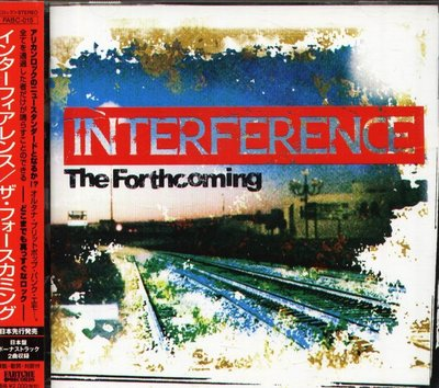 八八 - Interference - The Forthcoming  - 日版 CD+2BONUS+OBI