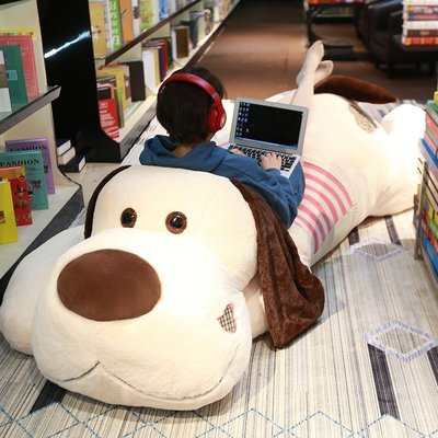 【安安3C】可愛哈士奇公仔毛絨玩具狗狗熊玩偶大布娃娃女孩二哈睡覺床上抱枕