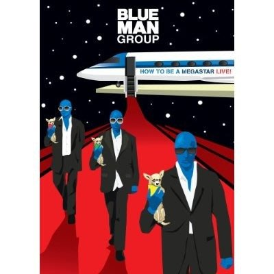 美版藍光BD~藍人樂團Blue Man Group: How to Be a Megastar Live!~下標就賣