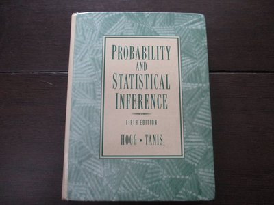 [184二手書_原文書] PROBABILITY AND STATISTICAL INFERENCE~下標即結