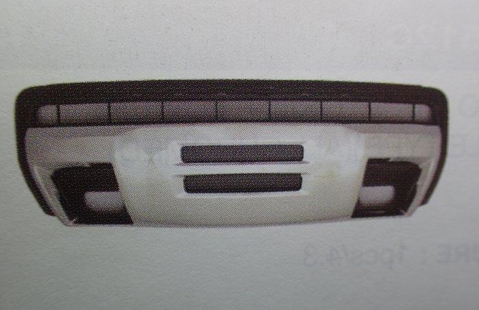 D18121117 CHEVROLET 雪佛蘭 GMC-CANYON 16-18年 電鍍銀 前下巴 國外進口