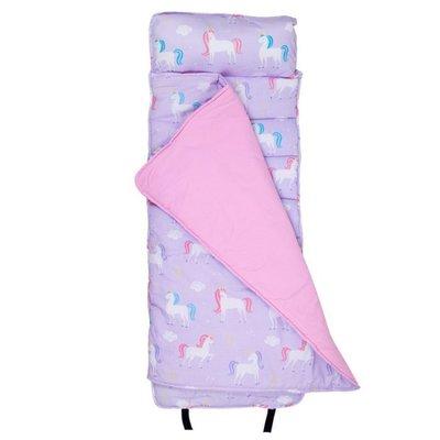 [美國 Wildkin]無毒幼教睡袋 符合美國標準 28803尋夢獨角獸 Nap Mat 午睡墊(3-7歲)