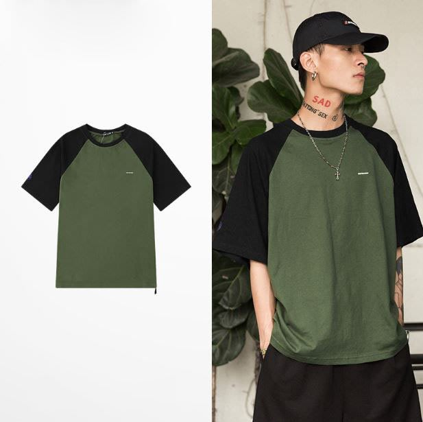【NoComment】很休閒潮流好看萬年不敗的撞色短衣 兩色 Nike Undercover