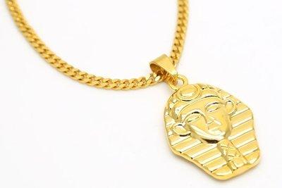 Cover Taiwan 官方直營 進口 K金 嘻哈街頭 金項鍊 法老王 ALL GOLD CHAIN 2 Chainz