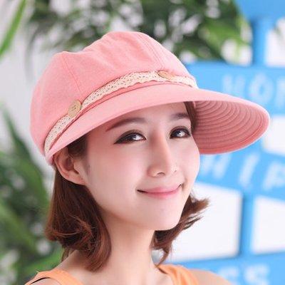 店長推薦 夏季女帽 禮帽 貝雷帽 草帽...