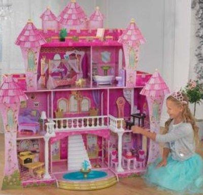 #944790 福利品 夢幻聲光城堡娃娃屋