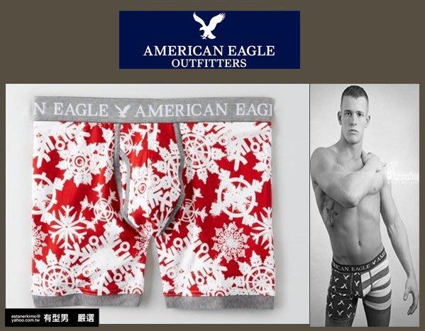 有型男~ AE American Eagle VS CK內褲Underwear 聖誕節雪花 XS M L 2XL 貝克漢
