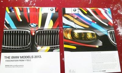 英文版寶馬 THE BMW MODELS 2013 FASCINATION FROM  1~Z