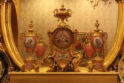 【家與收藏】特價極品稀有珍藏歐洲百年古...