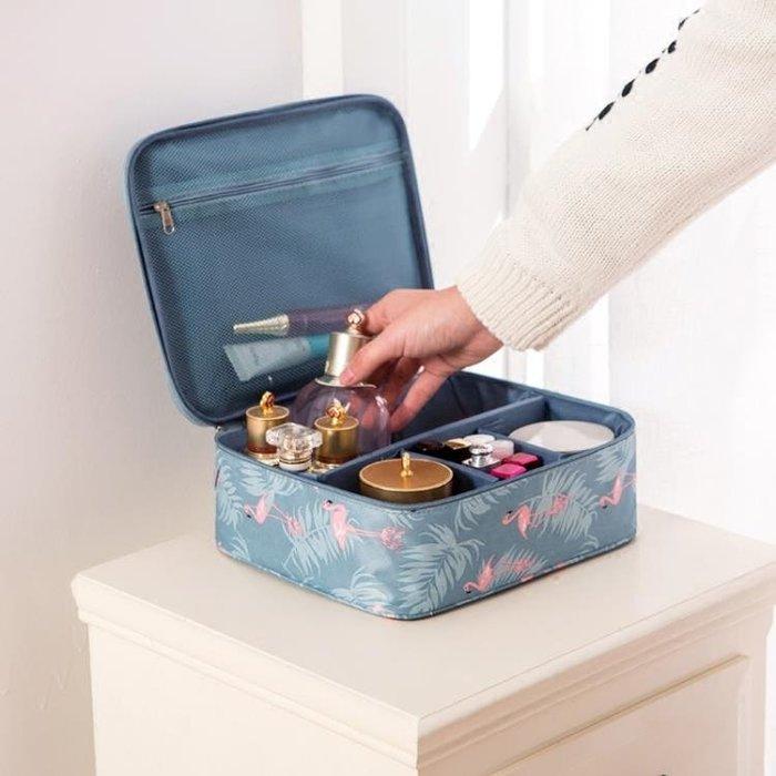 化妝包小號便攜韓國簡約大容量多功能收納袋隨身旅行少女心洗漱包 【橙色年代】