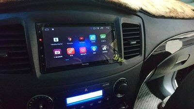 中壢富馳汽車音響 三菱 GRUNDER改裝 FREEWAY 7吋安卓導航影音主機