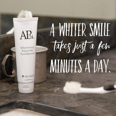 現貨優惠✔️如新 Nuskin AP24 潔白牙膏