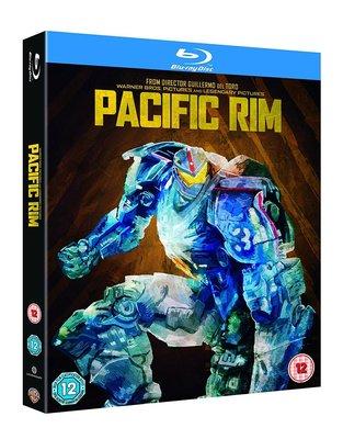 正版全新藍光BD~環太平洋 Pacific Rim外紙盒藍光雙碟限定版 [台式繁中字幕]