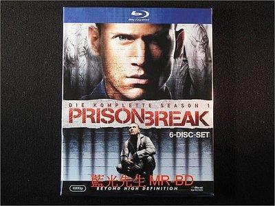 [藍光BD] - 越獄風雲 : 第一季 Prison Break : The Complete First Season 六碟裝