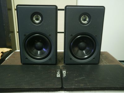 (老高音箱) 加拿大 SOUND DYNAMICS CINESAT 環繞書架喇叭 等級同 FOCAL SIB喇叭