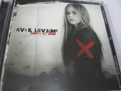Avril Lavigne 艾薇兒 Under My Skin 酷到骨子裡 自藏CD 美版 2004 Arista