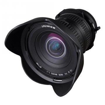 【EC數位】 LAOWA 15mm F4 超廣角微距鏡頭+超薄多層鍍膜保護鏡 適用 CANON NIKON PENTAX