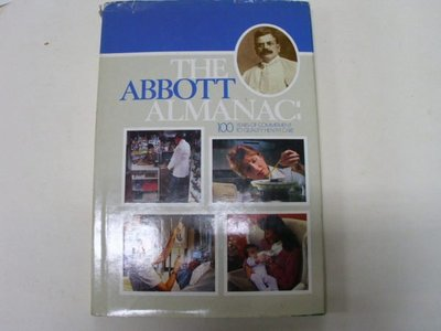 ///李仔糖舊書*THE ABBOTT ALMANAC (1888-1988) 百年特刊英文原版.附圖版=精裝(k332)