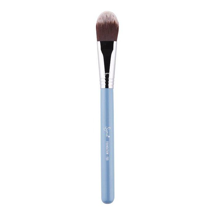 Sigma F60 - FOUNDATION BRUSH  (天藍色)【愛來客】美國官方授權經銷商 粉底刷 化妝刷