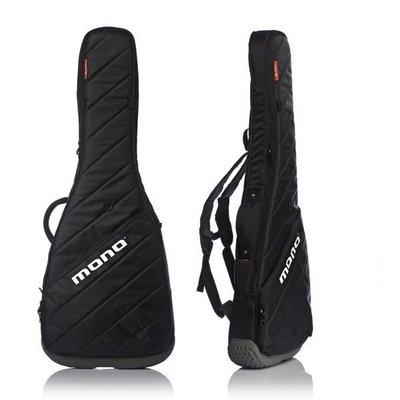 《民風樂府》可免息分期 美國 MONO M80-VEB-BLK (黑面灰底) 電貝士專業琴袋
