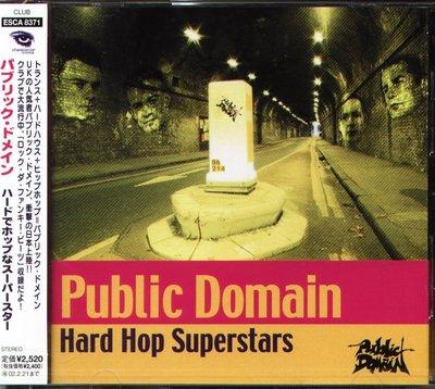 K - Public Domain - Hard Hop Superstars - 日版 - NEW