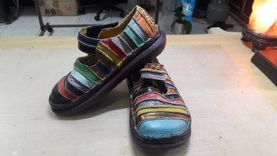 MACANNA 麥坎納彩虹鞋 腳環綁帶保鞋子氧化分解製作新鞋底 修鞋 換大底 底部脫落 壞掉 鞋底 氧化 分解 黏鞋