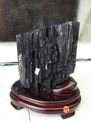 ~shalin-crysta~手握式~黑碧璽原礦~1.015公斤~招財納福~新陳代謝~能量優質~低價起標!