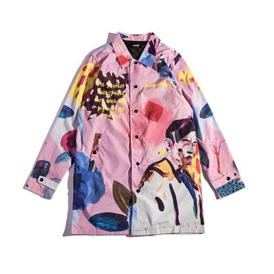 20ss Phantaci Artist Jay Long Coat 春夏最新 聯名款 長版外套 現貨L