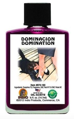 王者風範DOMINATION魔法油(INDIO) 勇氣無懼 意志力 決心
