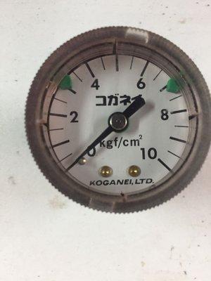 壓力錶、規格如照片標註