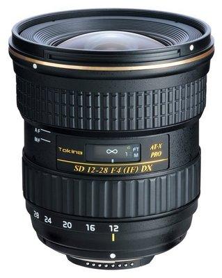 【華揚數位】☆全新TOKINA AT-X 12-28mm F4 PRO DX 變焦廣角鏡 立福公司貨