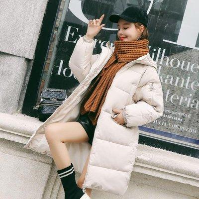 冬季外套女新款韓版羽絨棉服中長棉衣加厚棉襖學生過膝ins面包服