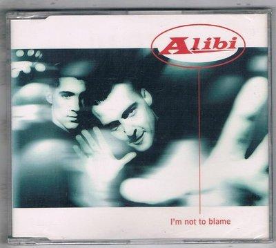 [鑫隆音樂]西洋單曲-ALIBI : I'm not to blame {74321434762}全新/免競標