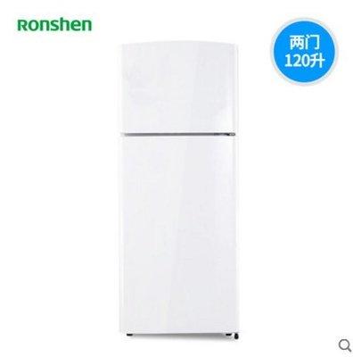 {優上百貨}Ronshen/容聲 BCD-120D12 兩門小冰箱雙門家用小型宿舍冷凍節能-29759