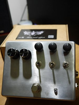 @心弦樂器@心弦手工 Studio Bass Preamp DI Box 效果器[Based on Sadowsky ]
