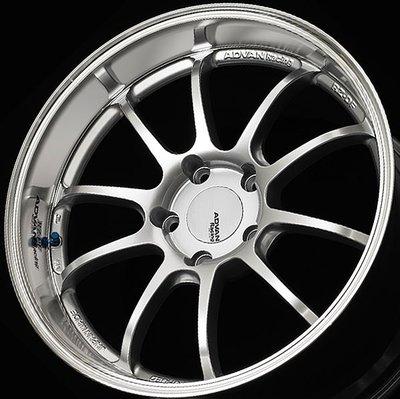 日本 Advan 鍛造 鋁圈 Racing RZ-DF 高亮銀 競技紅 消光黑 金屬黑 19吋 20吋 Porsche