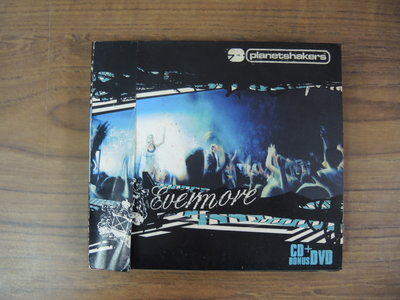 ◎MWM◎【二手CD+DVD】Evermore-Planetshakers CD+DVD,英文歌詞