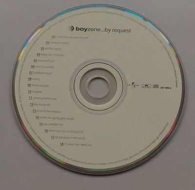 【尋音園】男孩特區 Boyzone By Request/裸片(播放面片況:有細刮痕)/播放正常