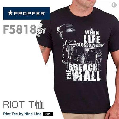 【IUHT】PROPPER Riot Tee by Nine Line 印花T-Shirt F58185Y