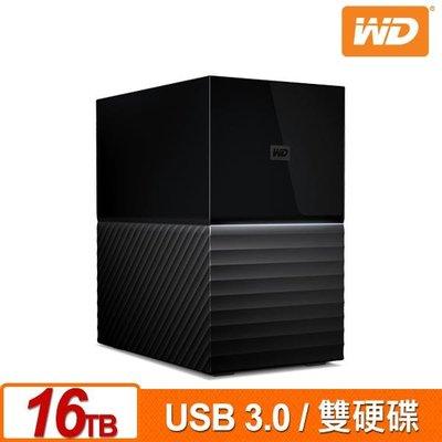 WD My Book Duo 16TB(8TBx2) 3.5吋雙硬碟儲存 WDBFBE0160JBK 台北市