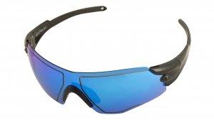 藍鯨高爾夫 GoPlay全片式太陽眼鏡(黑框鍍藍片)#GEY50008