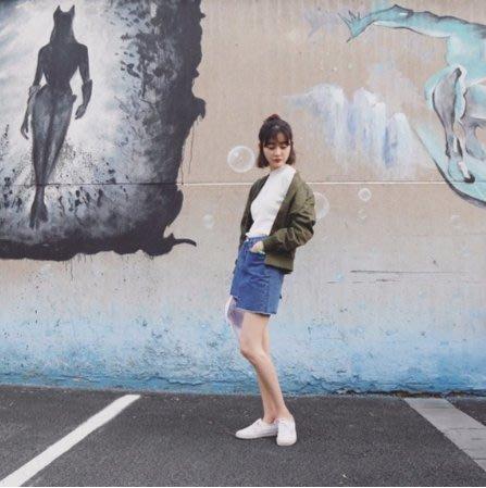 《現貨》 小性感不規則牛仔短裙16D060610