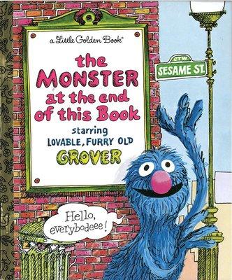 *小貝比的家*THE MONSTER AT THE END OF THIS BOOK/精裝/5-6歲大班/情緒管理