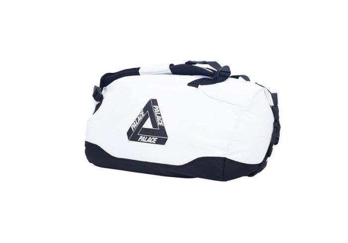 ☆AirRoom☆【現貨】2017AW PALACE CLIPPER BAG 波士頓包 行李袋 LOGO 白色