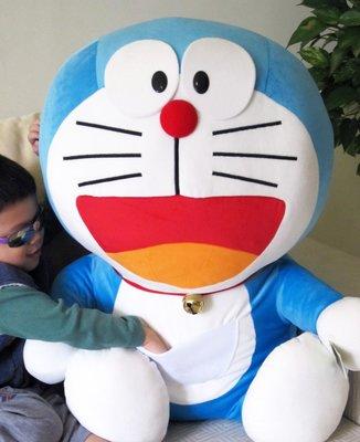【卡漫迷】 超大 Doraemon 絨毛 玩偶 70CM ㊣版 多拉 哆啦A夢 特 大型 娃娃 求婚 收藏 佈置 小叮噹